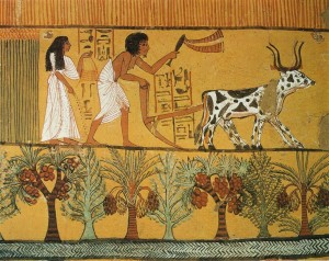 Egypt Tomb of Sennedjem 1200s BC detail 02